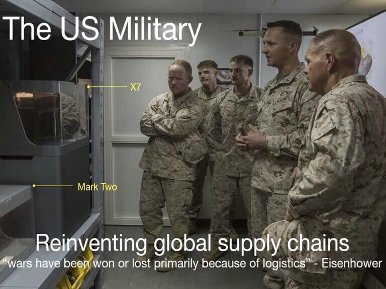 Jak americká armáda překonává problémy dodavatelského řetězce díky 3Dtisku