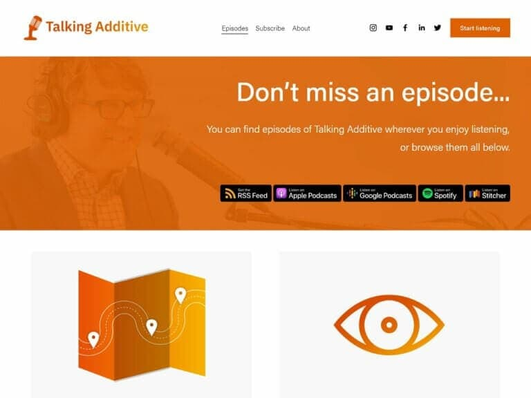 Talking additive: podcasty o aditivní výrobě