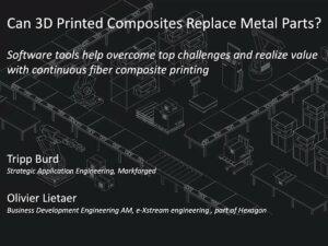 Co jsou 3Dtištěné kompozity?