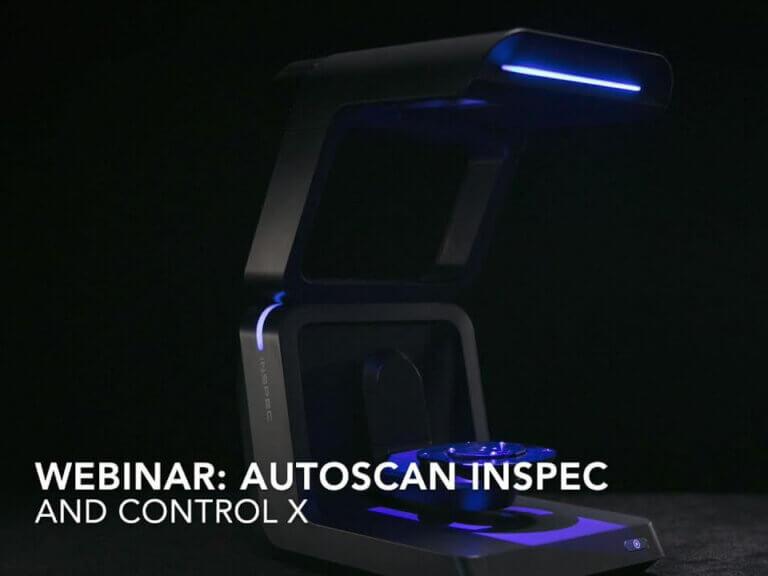 Automatizované metrologické 3Dskenování sAutoScan Inspec + Control X