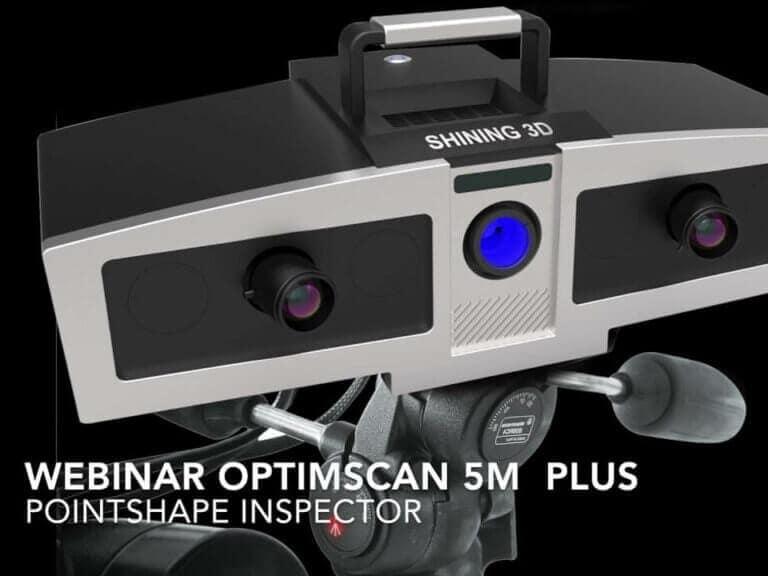 Jak narozměrovou inspekci přímo vevýrobě s3Dskenerem OptimScan 5M Plus + Pointshape