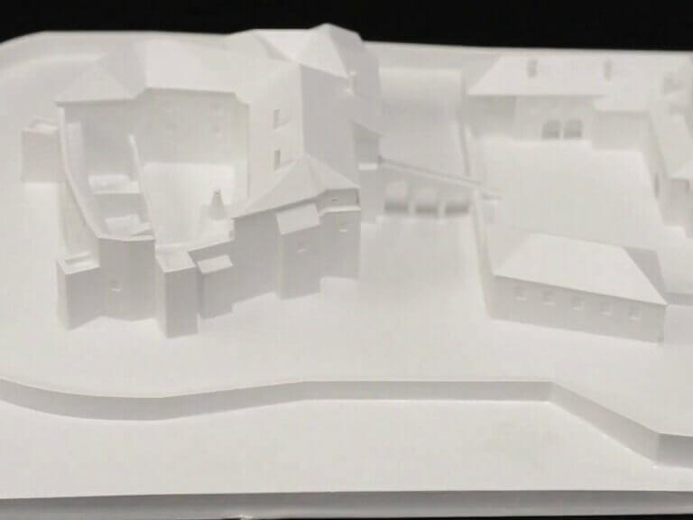 Historická podoba hradu Bouzov ožila díky 3Dtisku