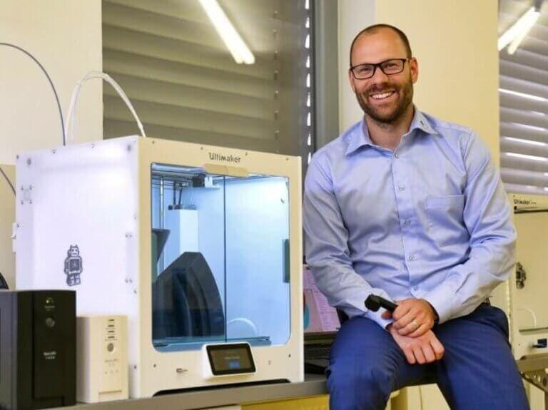 Pomocí 3Dtisku vyrábí dříve nevyrobitelné