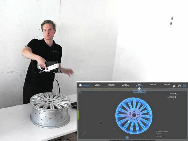 Přenosné metrologické skenování seskenery FreeScan