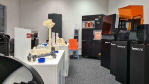 Aplikační centrum 3D tisku v Praze-Hloubětíně