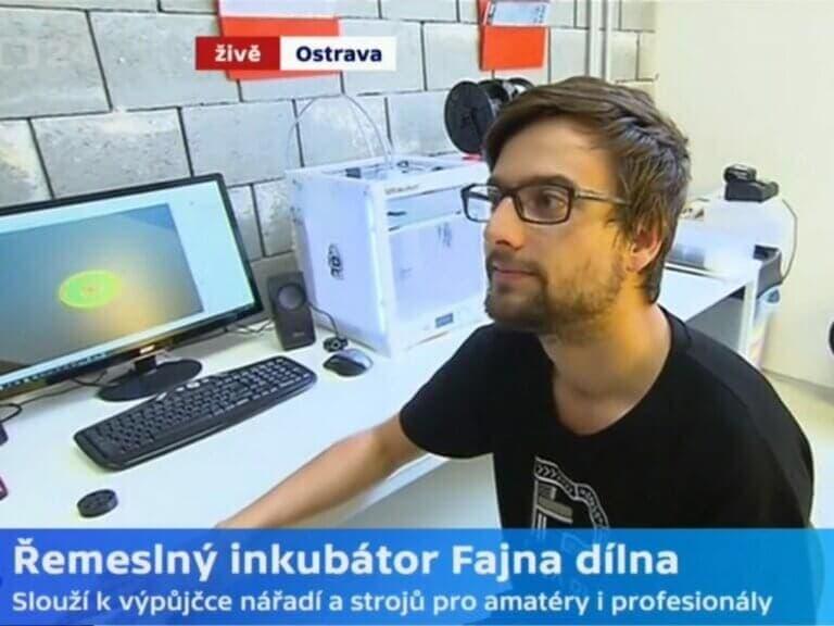 3D tisk inspiruje inovátory vřemeslném inkubátoru Fajna dilna