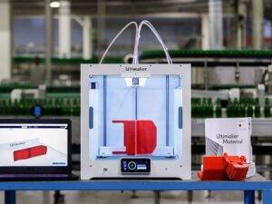 Heineken: 3Dtisk zajišťuje plynulost výroby