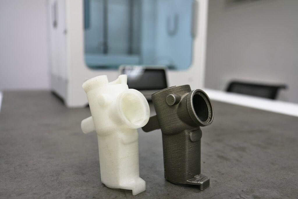 Odlévání z předlohy z materiálu Polymaker PolyCast (3D tisk)