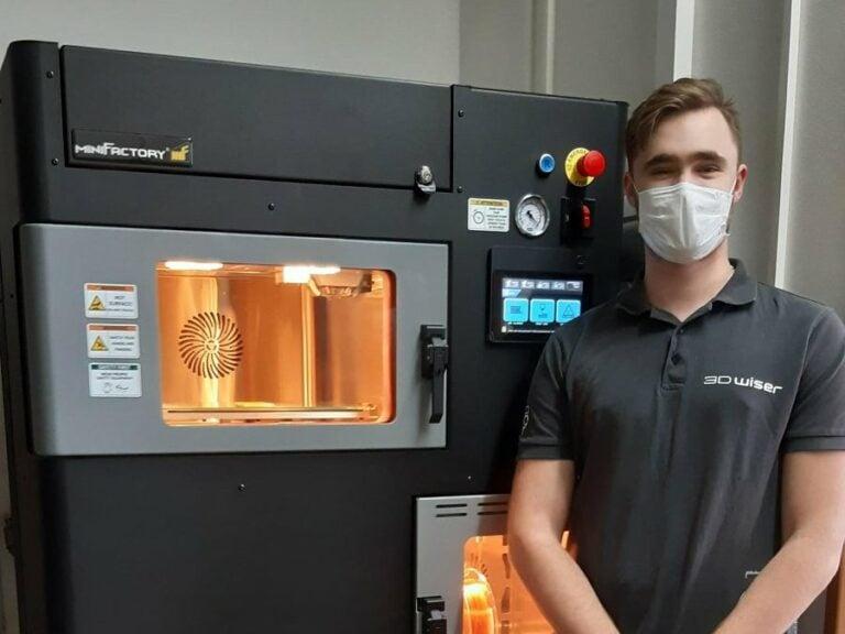 Špičkové 3Dtištěné termoplasty pomáhají vesklářství