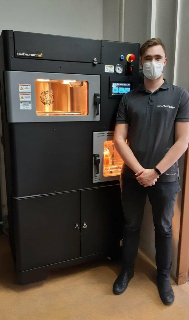 3D tiskárna MiniFactory Ultra v Heinz-Glas Decor v Hranicích