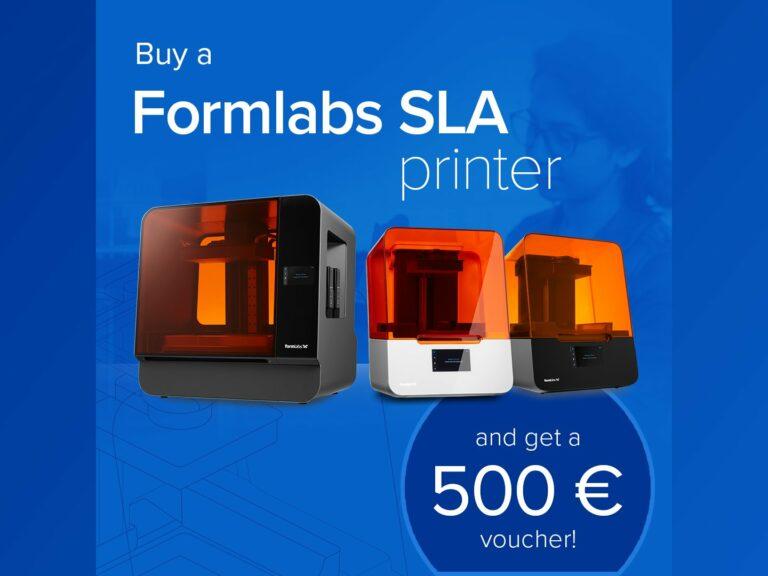 Kupte 3Dtiskárnu Formlabs azískejte 13000Kč