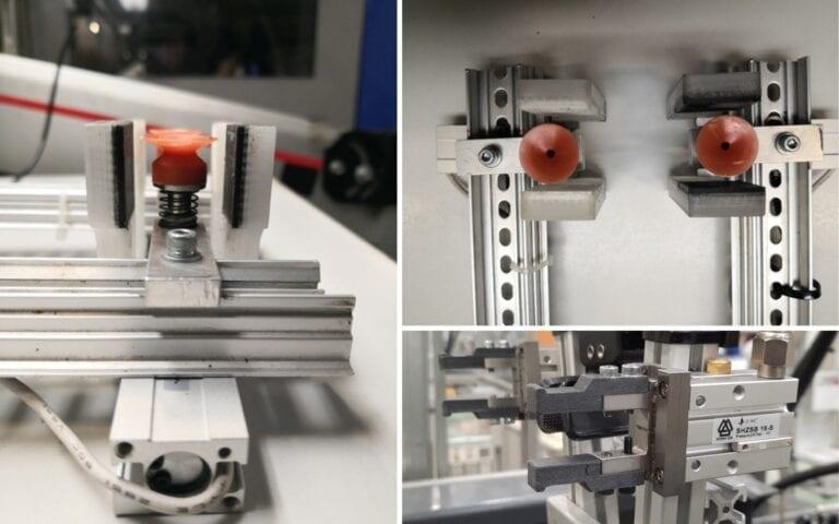 Součásti vytisknuté na Ultimakeru S5 z materiálů Ultimaker PC a TPU 95A / BASF 80A LF slouží v rámci provozu vstřikování plastů společnosti Takada Industries Czech Republic. Pomohly zkrátit cyklus výroby jednoho kusu výlisku o 1,7 sekundy