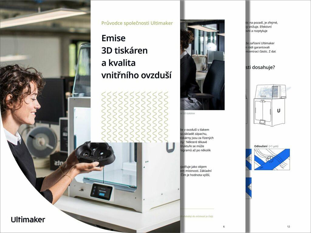 Průvodce: Emise 3D tiskáren a kvalita vnitřního ovzduší