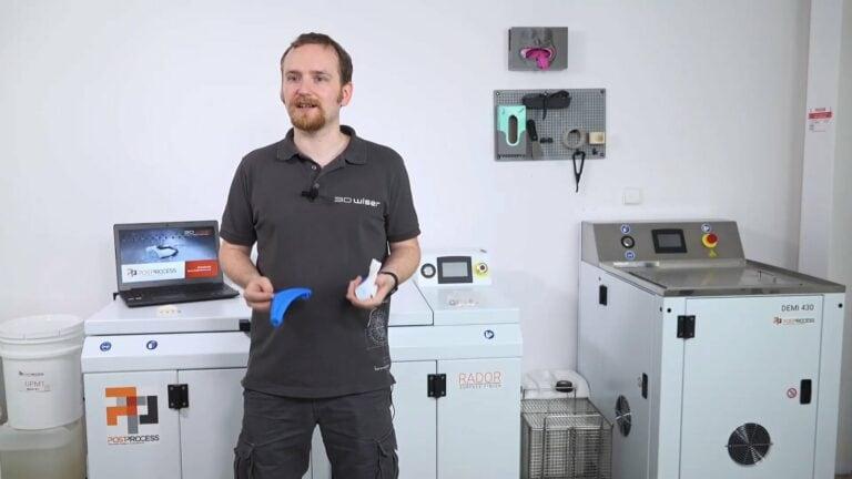 3D tiskem to nekončí: Jak na automatizovaný postprocessing výtisků