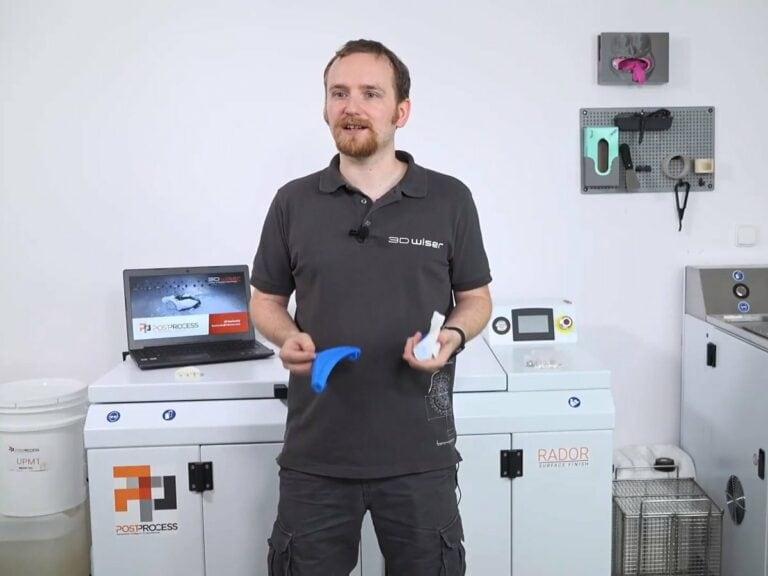 Webinář: 3Dtiskem to nekončí: Jak naautomatizovaný postprocessing výtisků