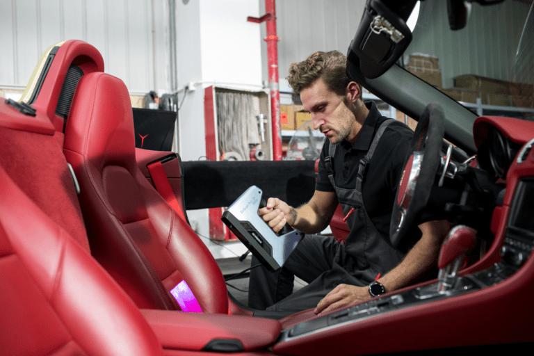 Shining 3D EinScan Pro 2X 2020 – 3D skenování auta